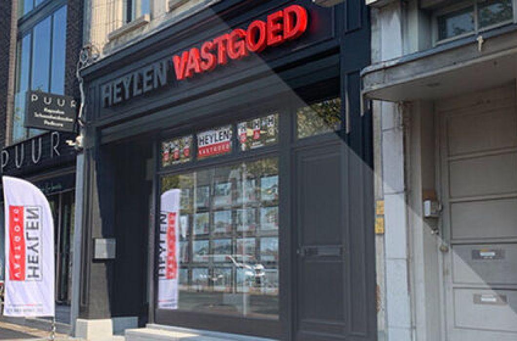 Heylen vastgoed nieuw kantoor in mortsel geopend